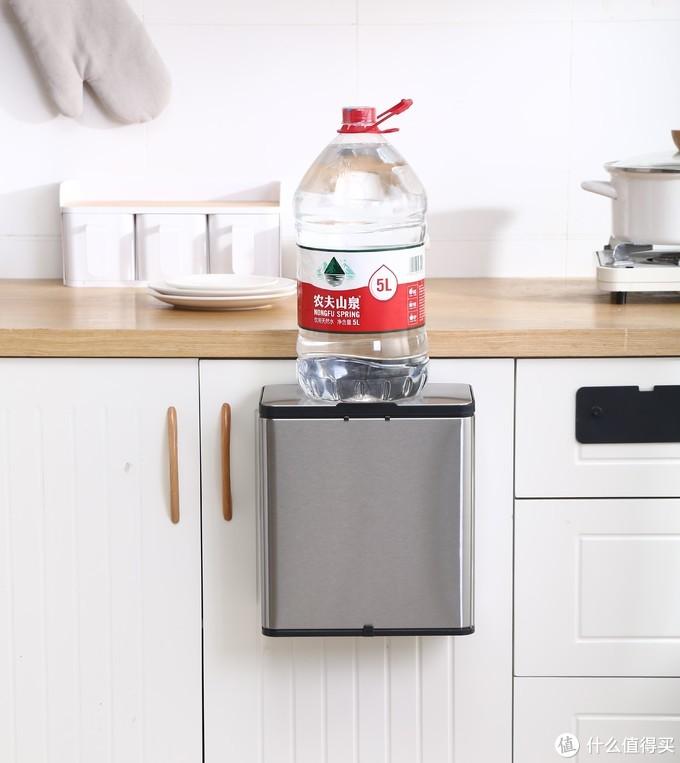 创意厨房悬挂式垃圾桶,杂物收纳篮厨房好物良心推荐!