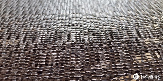 坐垫网面细节