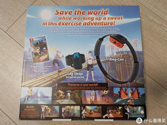 健身环大冒险 亚马逊海外购直邮 开箱