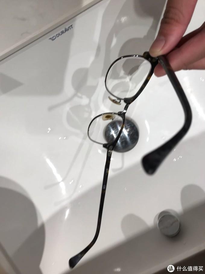 眼镜清洁前