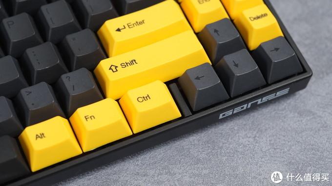 大黄蜂配色 GANSS ALT71 蓝牙双模机械键盘体验