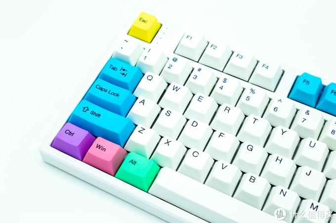 GANSS高斯 GM108D 铅笔色 有线蓝牙双模机械键盘