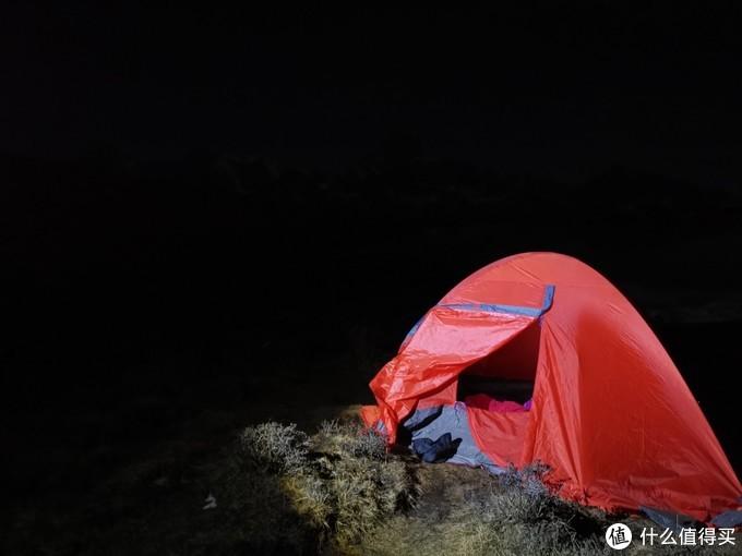 蜀山之王-贡嘎雪山朝圣之旅,冷噶错露营