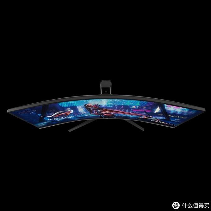 32:10超宽比、电竞血统:ASUS 华硕 发布 ROG Strix XG43VQ 4K曲面显示器