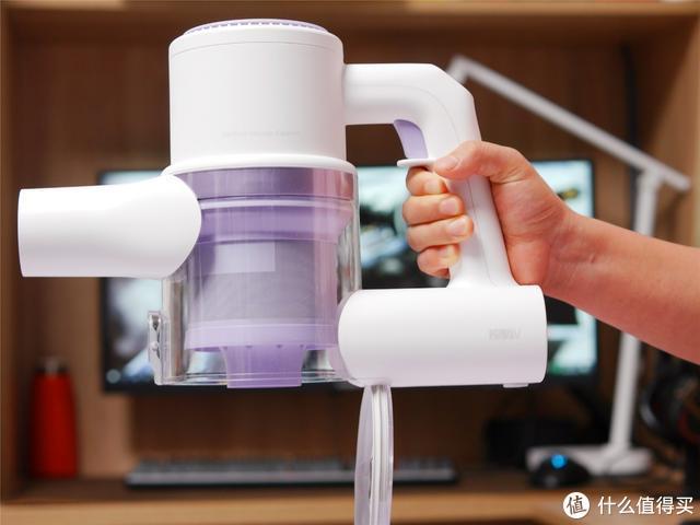 吸拖一体,睿米高颜值无线吸尘器ZERO,即使有洁癖也能满足需求