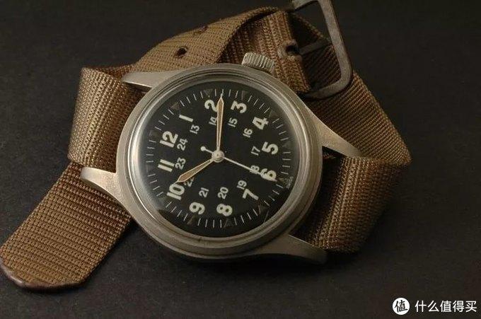 1970年代的汉米尔顿FAPD 5101 type 1腕表