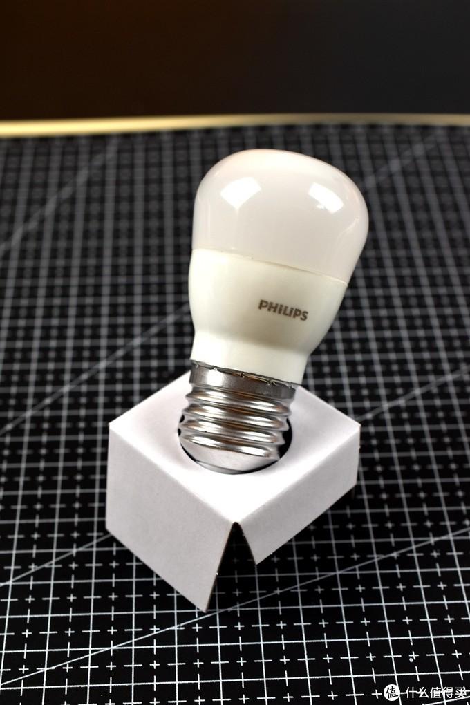 猫主子的守护小夜灯-Philips 飞利浦 LED灯泡 E27 2.5w 白色
