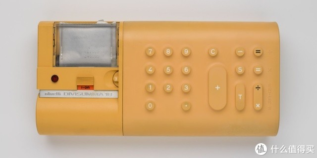 20世纪经典产品设计(一):奥利维蒂Divisumma 18计算器