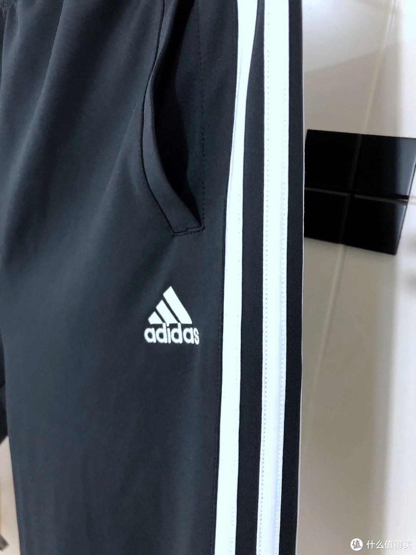 好价又舒服-adidas 阿迪达斯 TR30P3-BW 男士休闲长裤