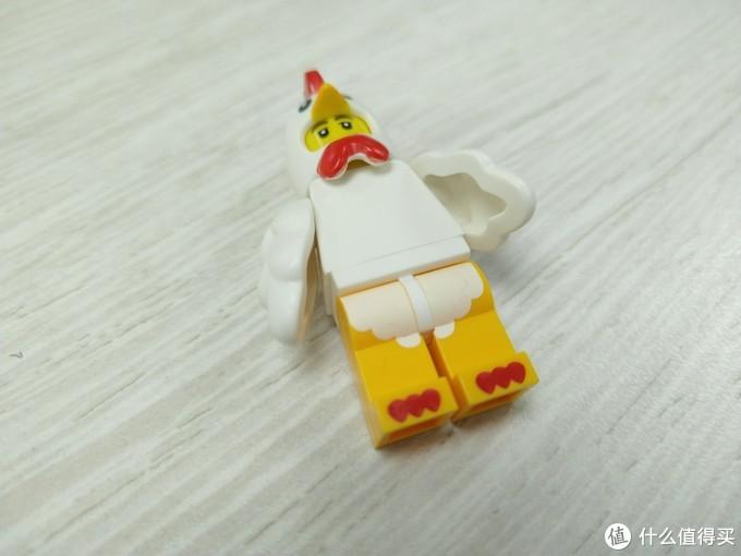 有鸡窝的LEGO小鸡人仔