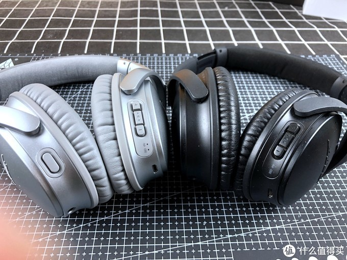 信仰无需多言-Bose QuietComfort35 QC35 二代 主动降噪蓝牙耳罩式耳机 开箱对比1代