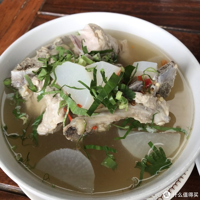排骨汤真的太好吃了!必点!