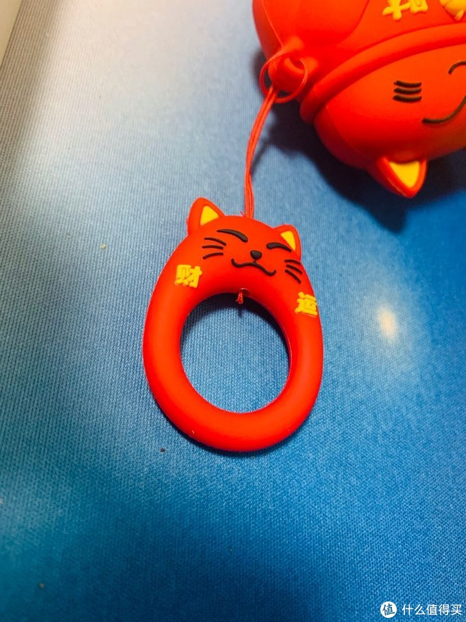 你以为他是一只招财猫,其实他是一只耳机。airpods pro耳机套简