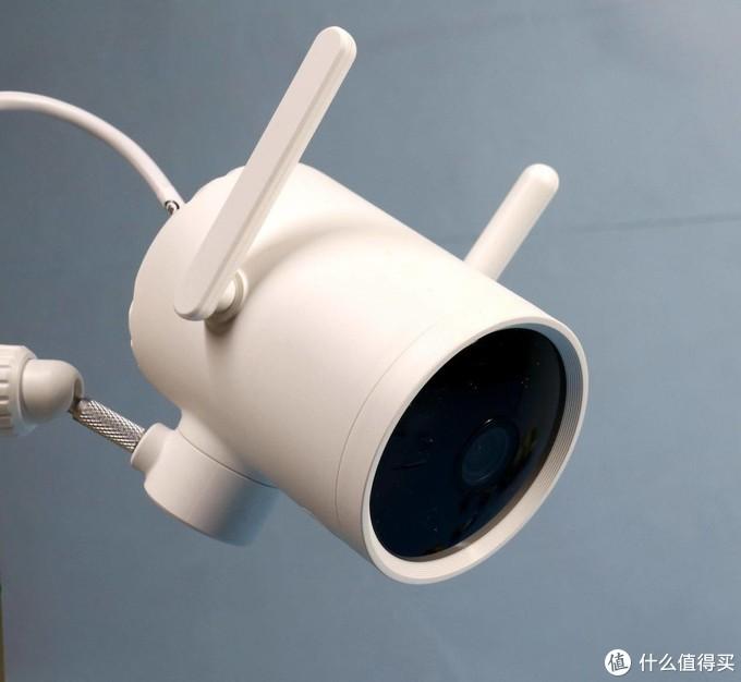  看家护院,用小白智能摄像机户外云台版N1,24小时安全守护