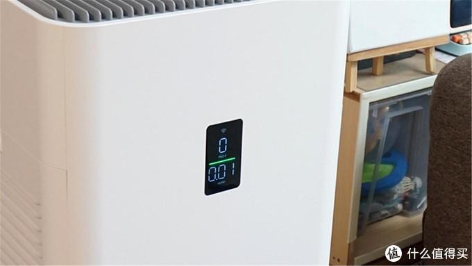看得见的空气质量,352空气净化器Y100C,一切用数据说话