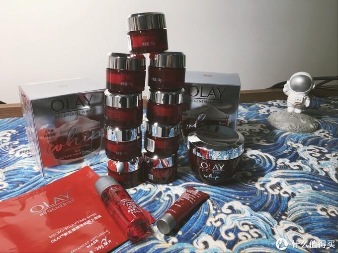 京东佛系购物双十一——赠品叠罗汉的OLay大红瓶