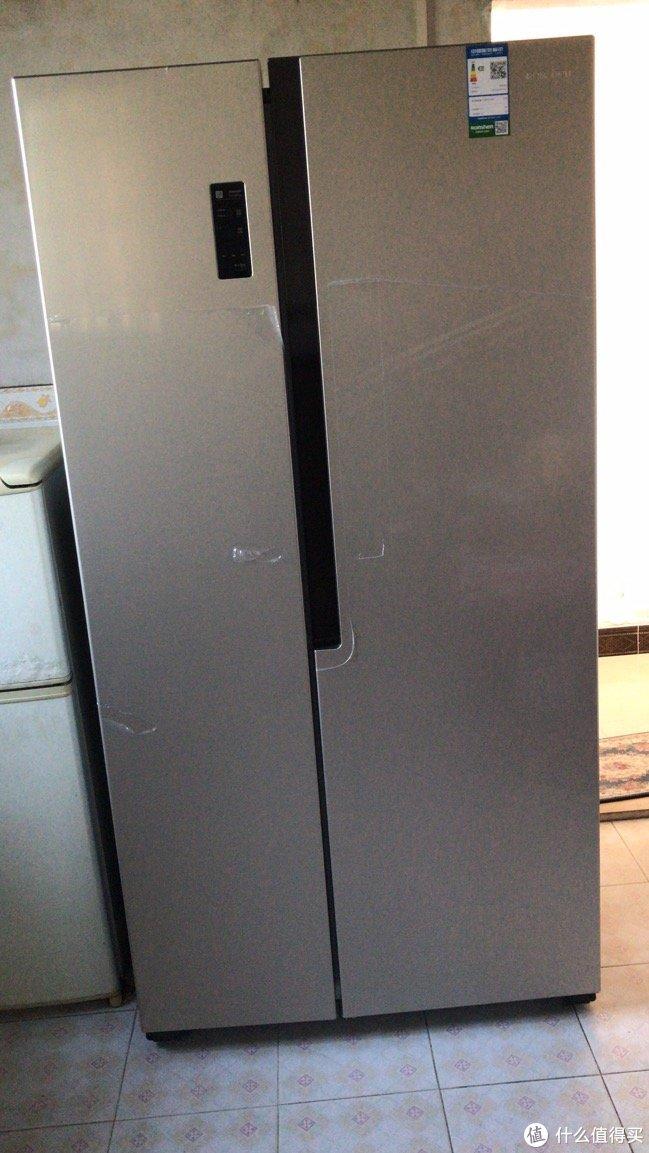 趁着双十一买了容声冰箱,和家里用15年的华凌说再见了