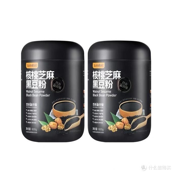 核桃芝麻黑豆粉,黑色的营养首选
