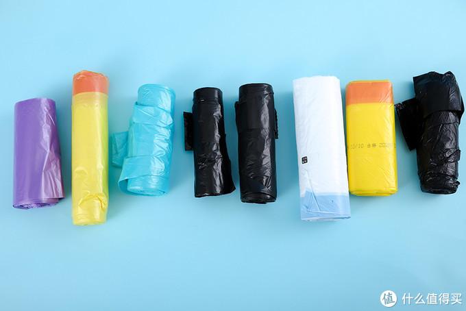 便宜垃圾袋未必鸡肋,实测8款高销垃圾袋