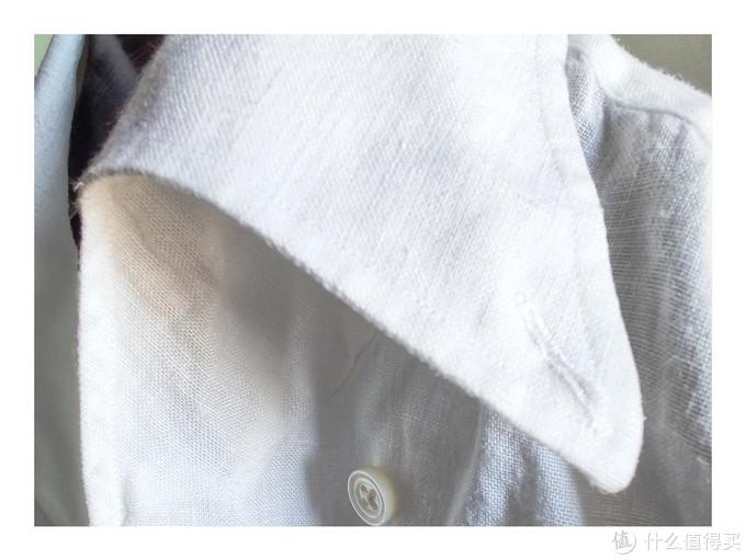 你知道你的衬衫领为啥时间久了会卷起来了嘛?