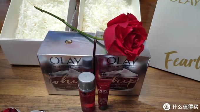 双十一329两瓶OLAY大红瓶空气霜附赠一堆赠品——真香啊