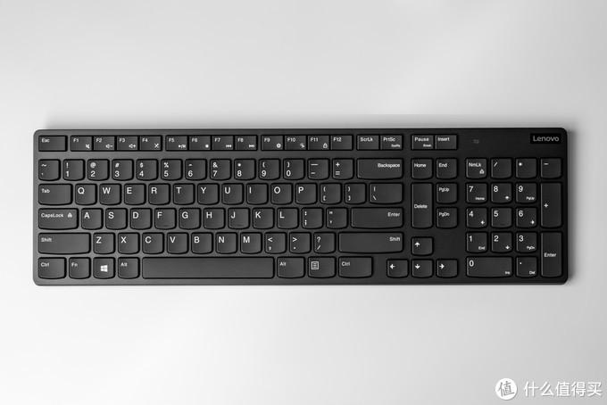 无线键盘正面图