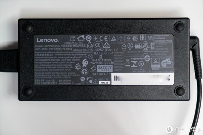 参数规格:20V/7.5A,单独再买一个备用也不贵,坏了也不怕~ 比内置电源方便多了
