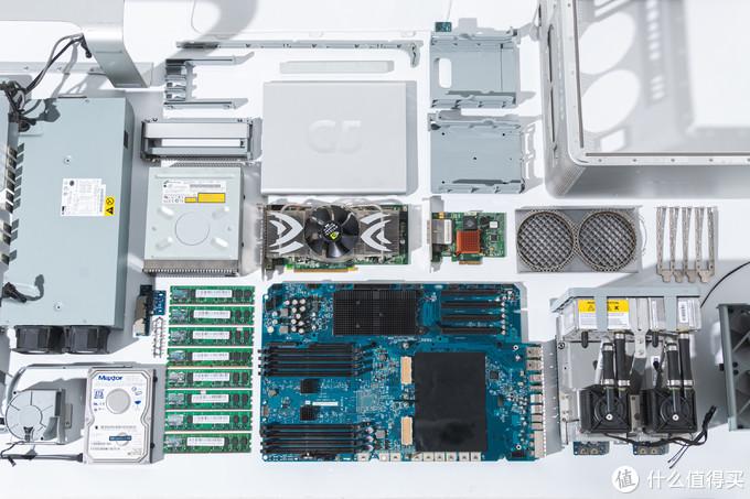 15年前的苹果power Mac g5 uad机皇拆机