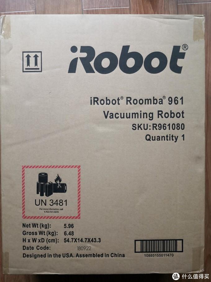 IROBOT ROOMBA 961开箱初次使用感受
