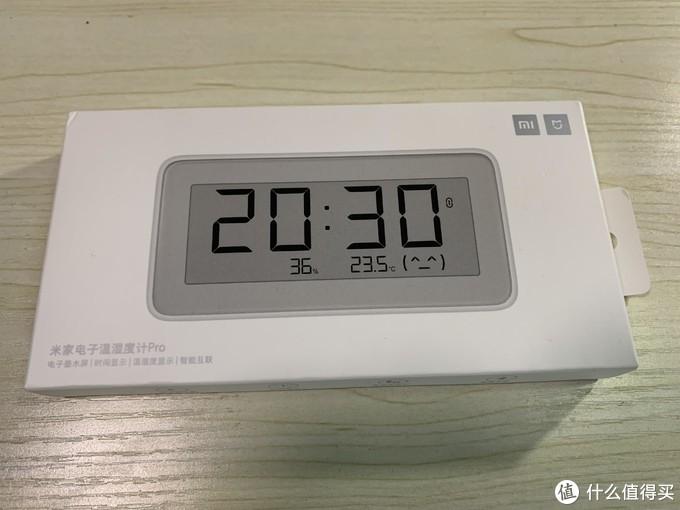 米家电子温湿度计Pro 开箱和体验