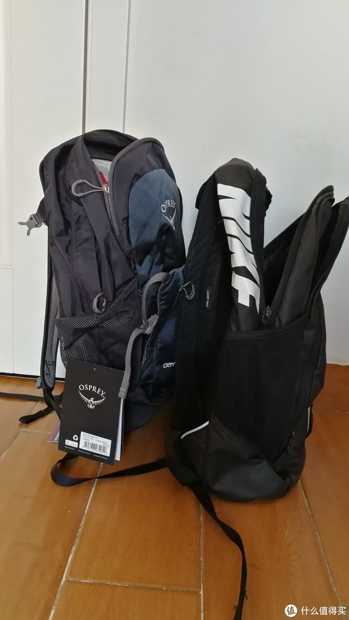 双十一入手京东OSPREY 日光+20升小鹰休闲通勤包