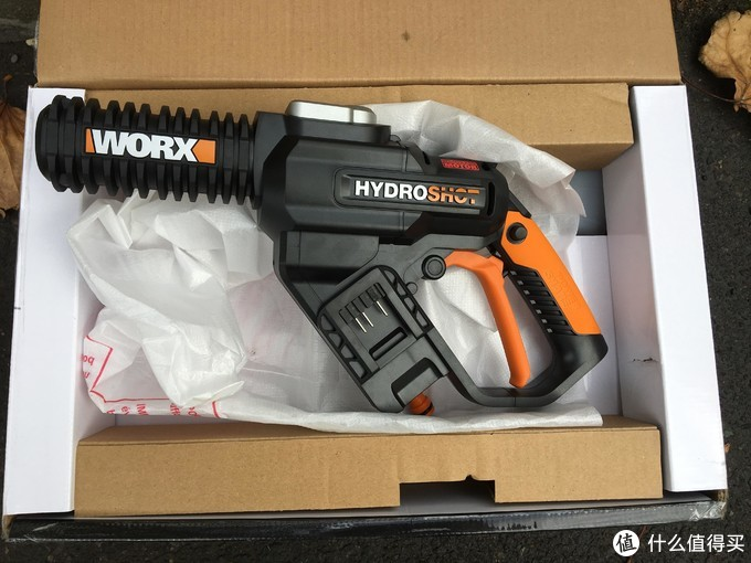 勉强够用的无线洗车工具——威克士WORX洗车机WG630E 开箱测