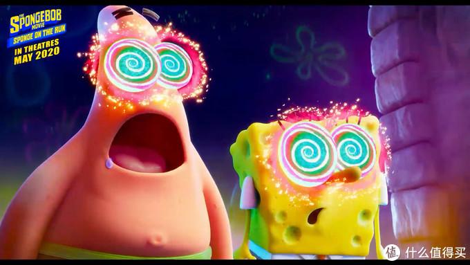 《海绵宝宝:营救大冒险》3D电影曝光新预告,海绵宝宝派大星遇到基努·里维斯