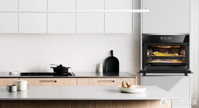 daogrs S1s蒸烤箱+单排高柜效果