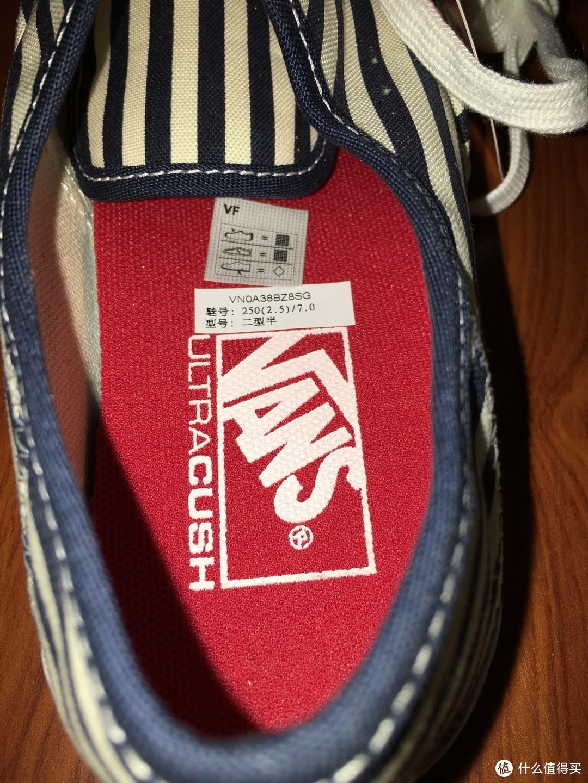 VANSAuthentic sf 系列 黑白色滑板鞋 开箱