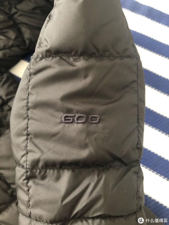 袖口600蓬标