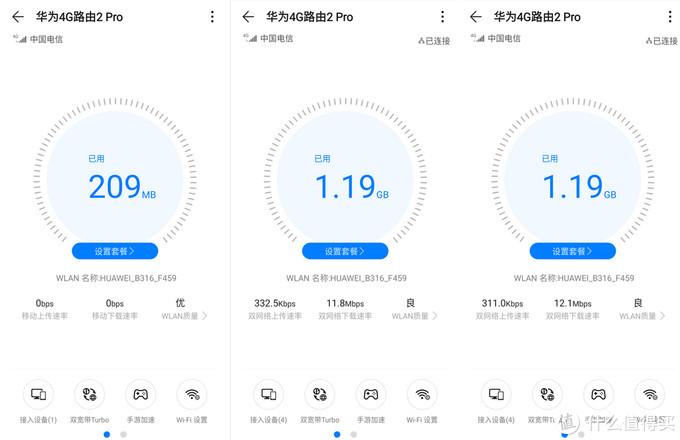 4G宽带真双频,畅游网络无障碍——华为4G路由2 Pro