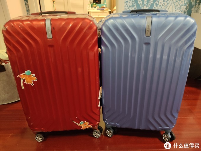 带我去旅行 新秀丽铝框行李箱