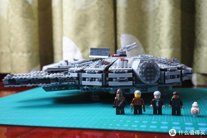 非星战迷也愿意买的玩具--LEGO乐高75105千年隼号展示