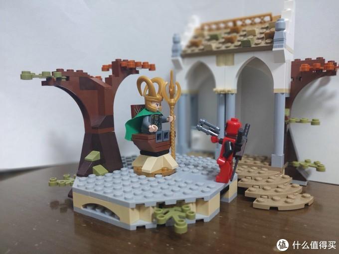 """""""阿斯加德的王位继承人,既不是你那个肌肉男哥哥,也不是你这个lowb,而是我Deadpool哒!"""""""