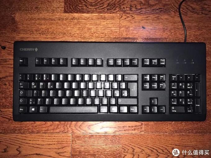 新人鼠标已买,键盘也不能差,Cherry G80-3000黑轴开箱