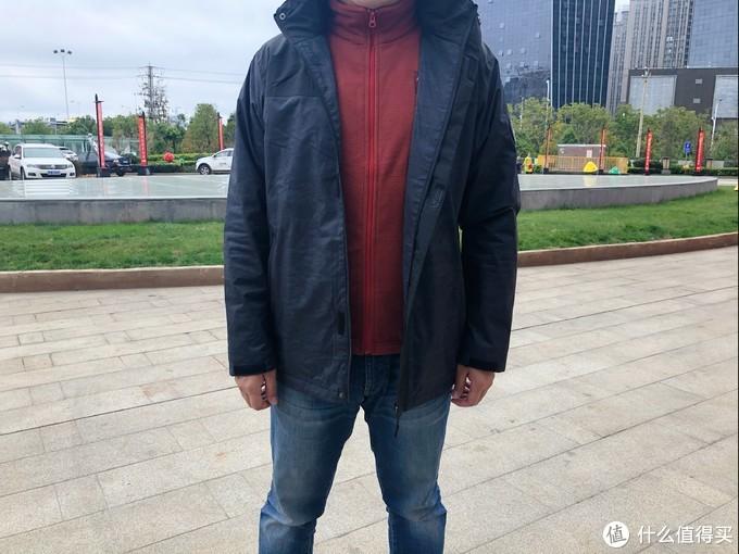抵挡早上上班的寒风——TFO 黑迷彩三合一冲锋衣