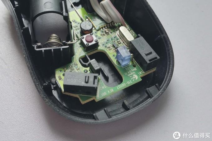 优联非优联差异——罗技M185优联版、2.4g版鼠标 对比拆解