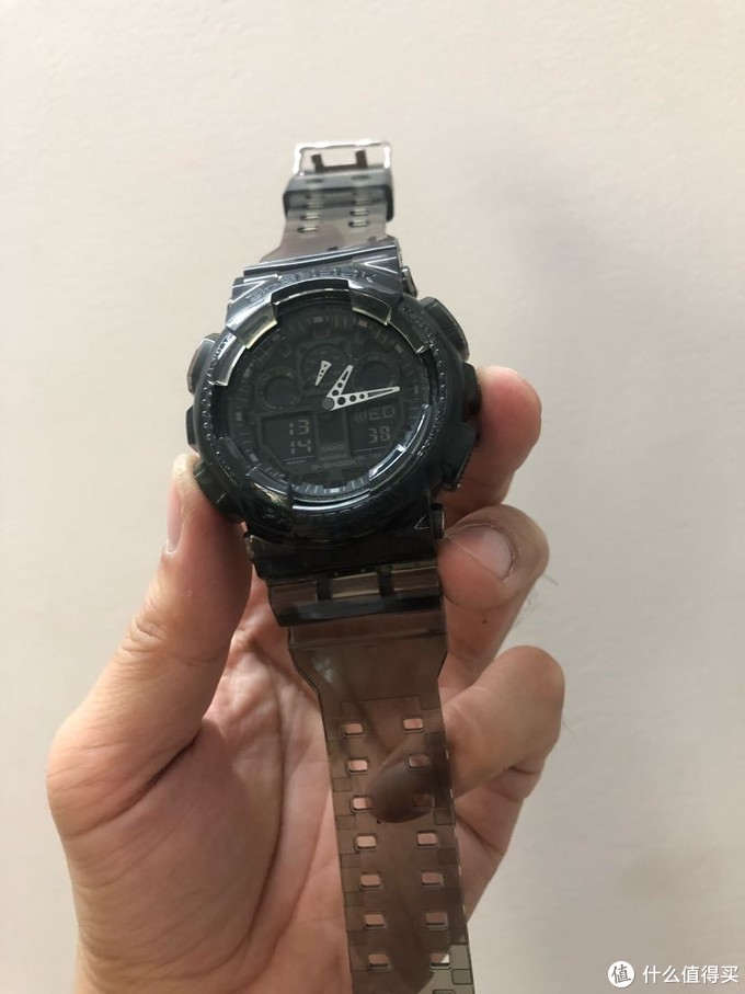 G-Shock换表带~