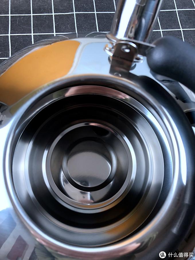 超级大容量-美厨(maxcook)烧水壶 304不锈钢水壶 6L
