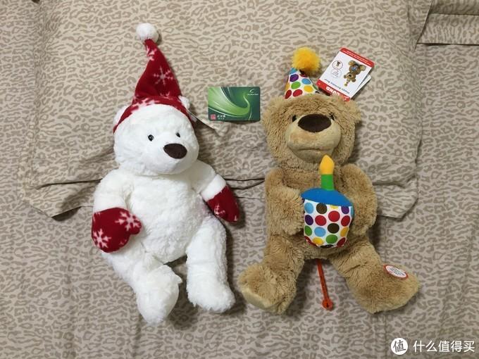 图书馆猿の床底下翻出来的两只 GUND 泰迪熊