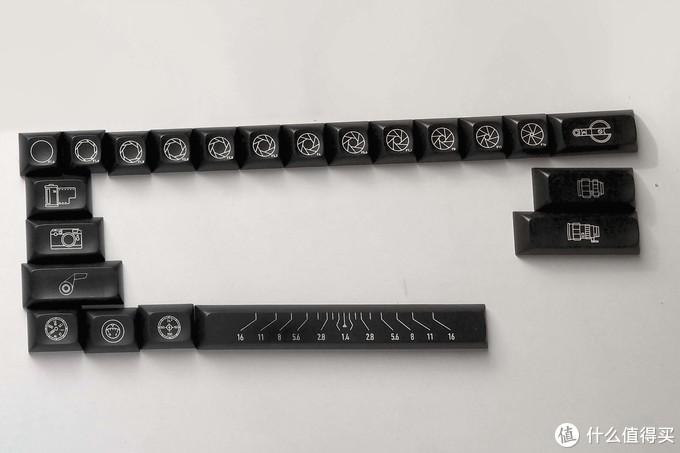 黑电子复古风——TEX ADA 镭雕键帽 开箱晒物