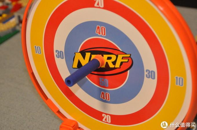 不到20元的NERF对决——热火精英 强力升级版B9838和拦截发射器标靶套装A9588