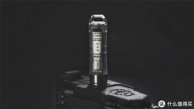 这是一支有趣又实用的钥匙灯