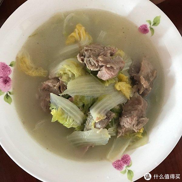 咳嗽不止? 来碗大白菜猪脷排骨汤